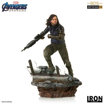 Statuette Avengers Endgame BDS Art Scale Winter Soldier 21cm