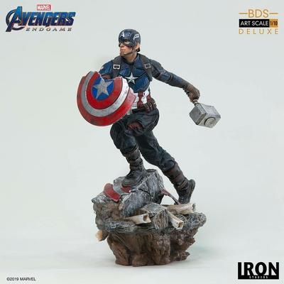 Statuette Avengers Endgame Deluxe BDS Art Scale Captain America 21cm