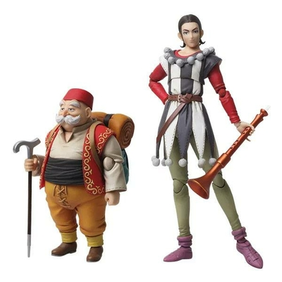 Figurines Dragon Quest XI Echoes of an Elusive Age Bring Arts Sylvando & Rab 12 - 15cm