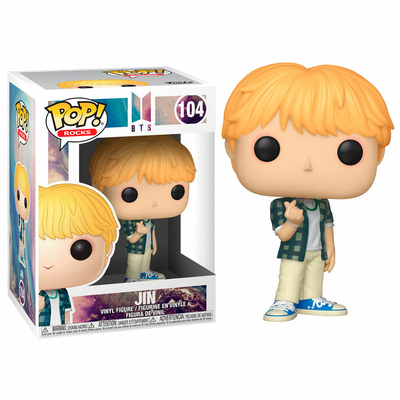 Figurine BTS Funko POP! Rocks Jin 9cm