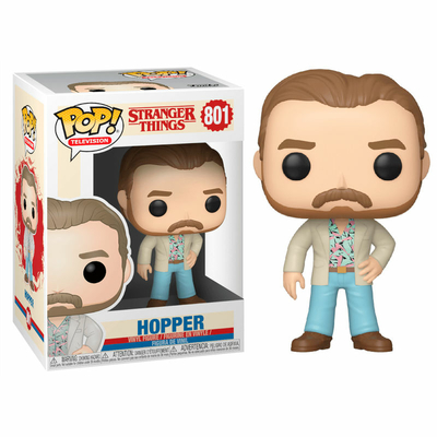 Figurine Stranger Things 3 Funko POP! Hopper Date Night 9cm