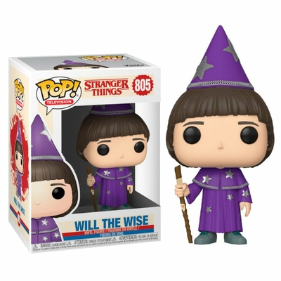 Figurine Stranger Things 3 Funko POP! Will the Wise 9cm