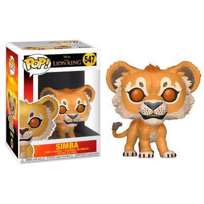 Figurine Le Roi lion 2019 Funko POP! Disney Simba 9cm