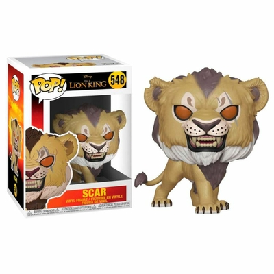 Figurine Le Roi lion 2019 Funko POP! Disney Scar 9cm
