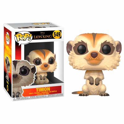 Figurine Le Roi lion 2019 Funko POP! Disney Timon 9cm