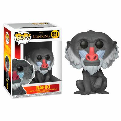 Figurine Le Roi lion 2019 Funko POP! Disney Rafiki 9cm