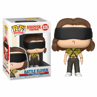 Figurine Stranger Things 3 Funko POP! Battle Eleven 9cm