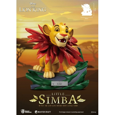 Statuette Disney Le Roi Lion Master Craft Little Simba 31cm