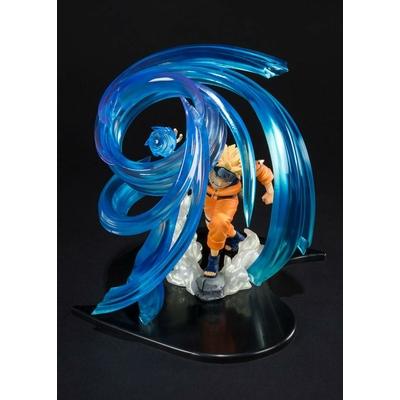 Statuette Naruto Shippuden Figuarts Zero Naruto Uzumaki Rasengan Kizuna Relation 18cm