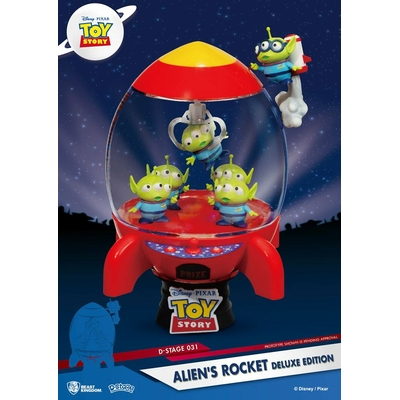Diorama Toy Story D-Stage Alien's Rocket Deluxe Edition 15cm