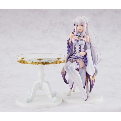 Statuette Re:ZERO Starting Life in Another World Emilia Tea Party Ver. 20cm