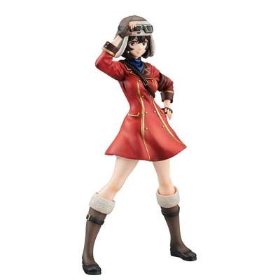 Statuette The Kotobuki Squadron in The Wilderness Gals Kylie 21cm