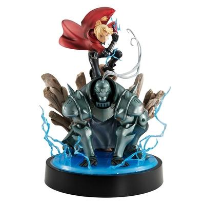 Statuette Fullmetal Alchemist Precious G.E.M. Series Edward & Alphonse Elric Brothers 30cm