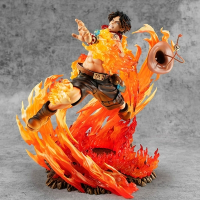 Statuette One Piece P.O.P. NEO-Maximum Portgas D. Ace 15th Anniversary Limited Ver. 23cm