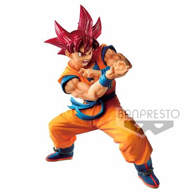 Statuette Dragon Ball GT Blood of Saiyans Super Saiyan God Son Goku 17cm