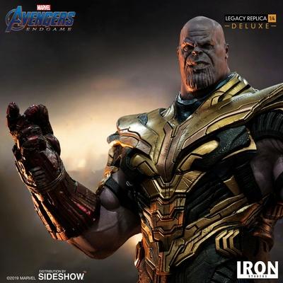 Statuette Avengers Endgame Legacy Replica Thanos Deluxe Ver. 78cm