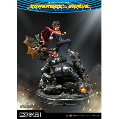 Statue DC Comics Superboy & Robin 64cm