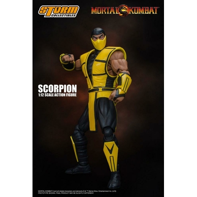 Figurine Mortal Kombat Scorpion 16cm