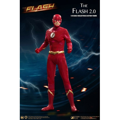Figurine The Flash Real Master Series The Flash 2.0 Normal Version 23cm