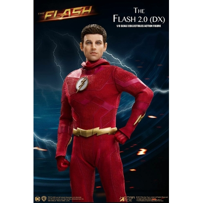 Figurine The Flash Real Master Series The Flash 2.0 Deluxe Version 23cm
