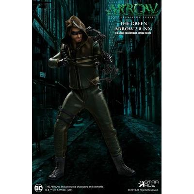 Figurine Arrow Real Master Series Green Arrow 2.0 Normal Version 23cm