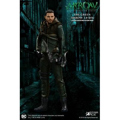 Figurine Arrow Real Master Series Green Arrow 2.0 Deluxe Version 23cm