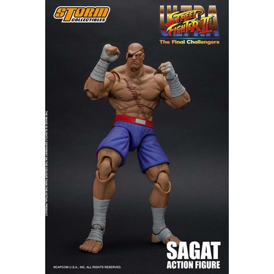 Figurine Ultra Street Fighter II The Final Challengers Sagat 19cm