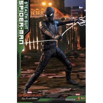 Figurine Spider-Man Far From Home Movie Masterpiece Spider-Man Stealth Suit 29cm