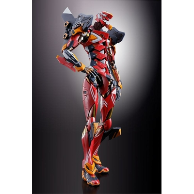 Figurine Neon Genesis Evangelion Diecast Metal Build EVA-02 Production Model 22cm