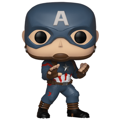Figurine Avengers Endgame Funko POP! Bobble Head Captain America Special Edition 9cm