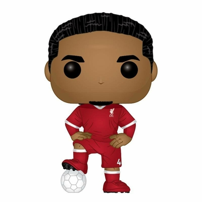 Figurine Football Funko POP! Virgil van Dijk Liverpool 9cm