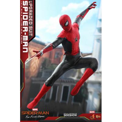 Figurine Spider-Man Far From Home Movie Masterpiece Spider-Man Upgraded Suit 29cm