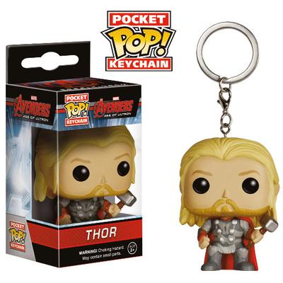Porte-clés Avengers L'Ère d'Ultron POP! Thor 4 cm