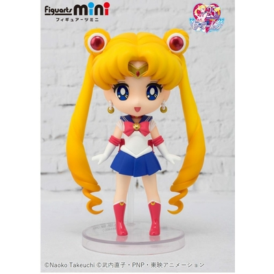 Figurine Sailor Moon Figuarts mini Sailor Moon 9cm