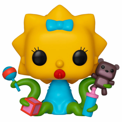 Figurine The Simpsons Funko POP! Alien Maggie 9cm