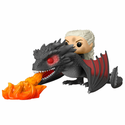 Figurine Game of Thrones Funko POP! Rides Daenerys on Fiery Drogon 18cm