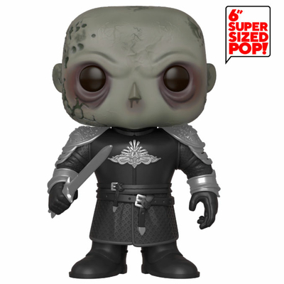 Figurine Game of Thrones Super Sized Funko POP! The Mountain 15cm