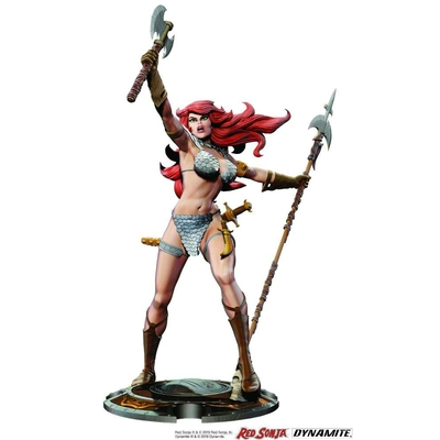 Statuette Red Sonja 45th Anniversary by Frank Thorne 32cm