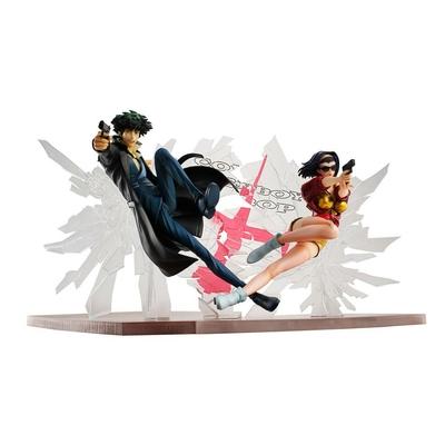 Statuettes Cowboy Bebop Spike Spiegel & Faye Valentine 1st GIG 20cm