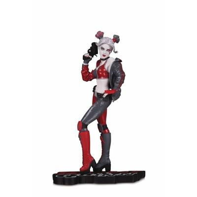 Statuette DC Comics Red White & Black Harley Quinn by Joshua Middleton 19cm