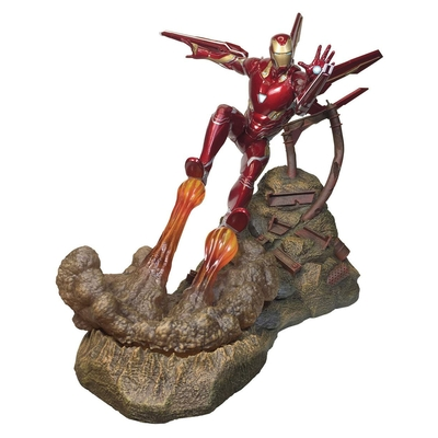 Statuette Avengers Infinity War Marvel Movie Premier Collection Iron Man MK50 - 30cm