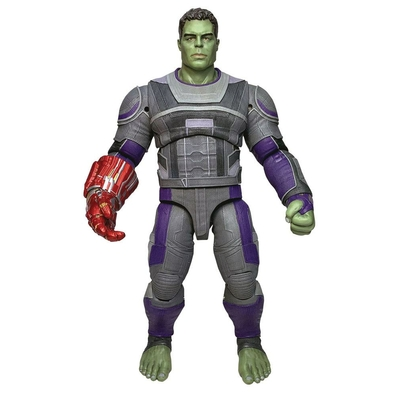 Figurine Avengers Endgame Marvel Select Hulk Hero Suit 23cm