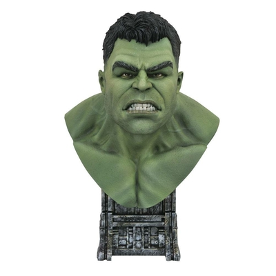 Buste Thor Ragnarok Legends in 3D Hulk 25cm