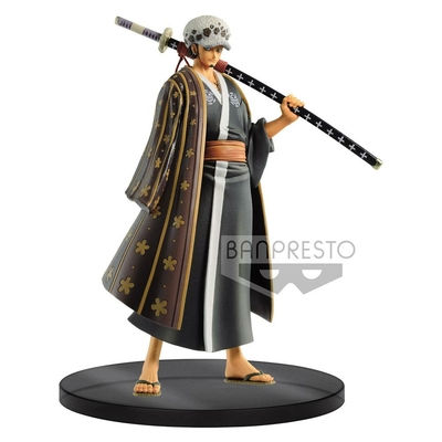 Statuette One Piece DXF Grandline Men Wanokuni Vol. 3 Trafalgar Law 17cm