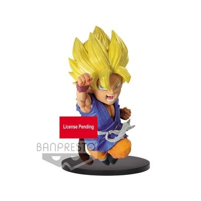 Statuette Dragon Ball GT Wrath of the Dragon B Super Saiyan Son Goku 13cm