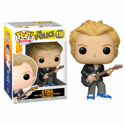 Figurine The Police Funko POP! Rocks Sting 9cm
