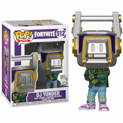 Figurine Fortnite Funko POP! DJ Yonder 9cm