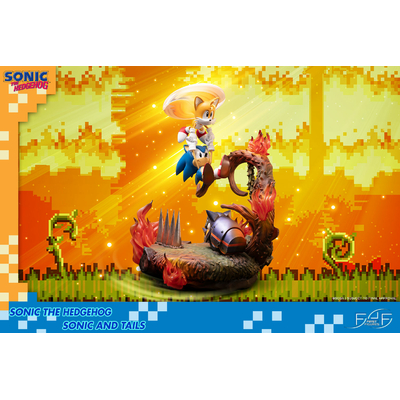 Statuette Sonic the Hedgehog Sonic & Tails 51cm