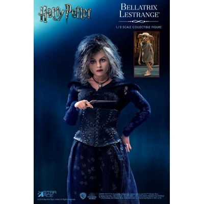 Pack 2 figurines Harry Potter Real Master Series Bellatrix & Dobby 16-23cm