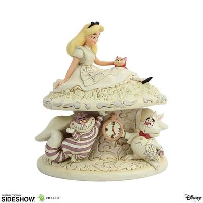 Statuette Disney White Woodland Alice au pays des merveilles 18cm